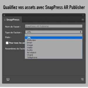 Extension InDesign pour Snappress