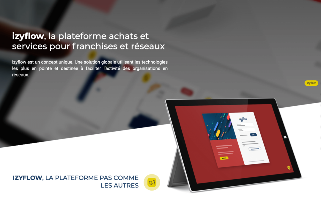izyflow, la plateforme des franchisés